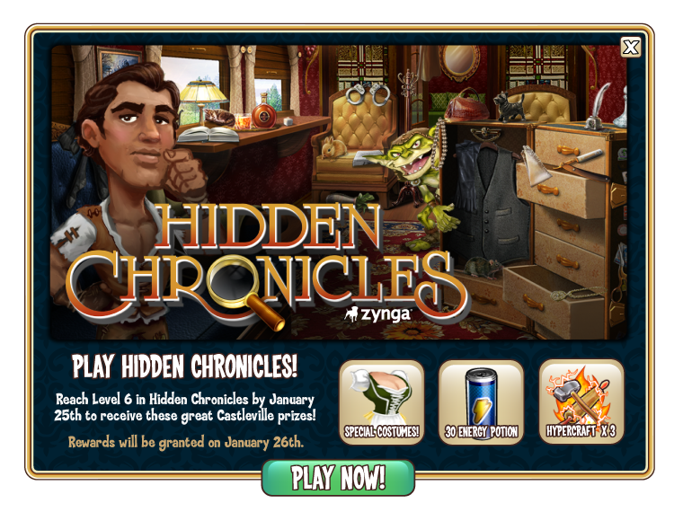 Hidden Chronicles 3 Enerji Hilesi – 8 Nisan