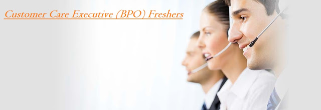 Urgent Opening For Customer Care Executive (BPO) Freshers