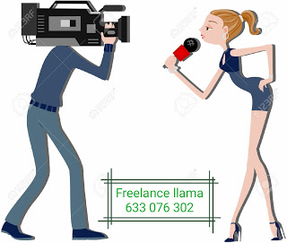 Reporteros freelance en acción
