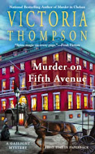Giveaway: Murder on Fifth Avenue
