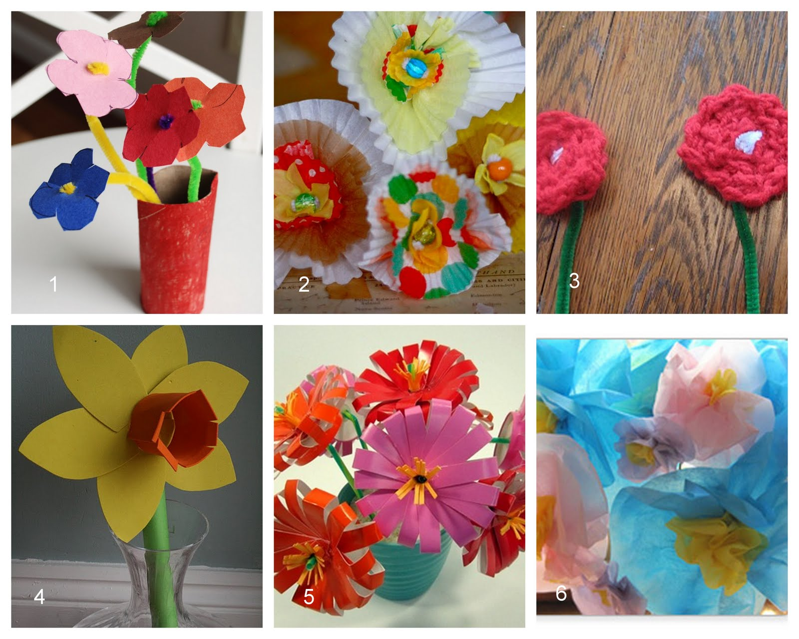 homemade flowers for mother s day mothers day gift and other