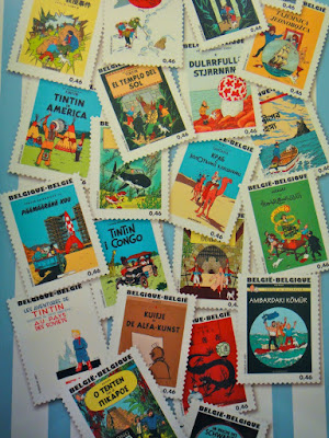 The Adventure of Tintin Comic Series