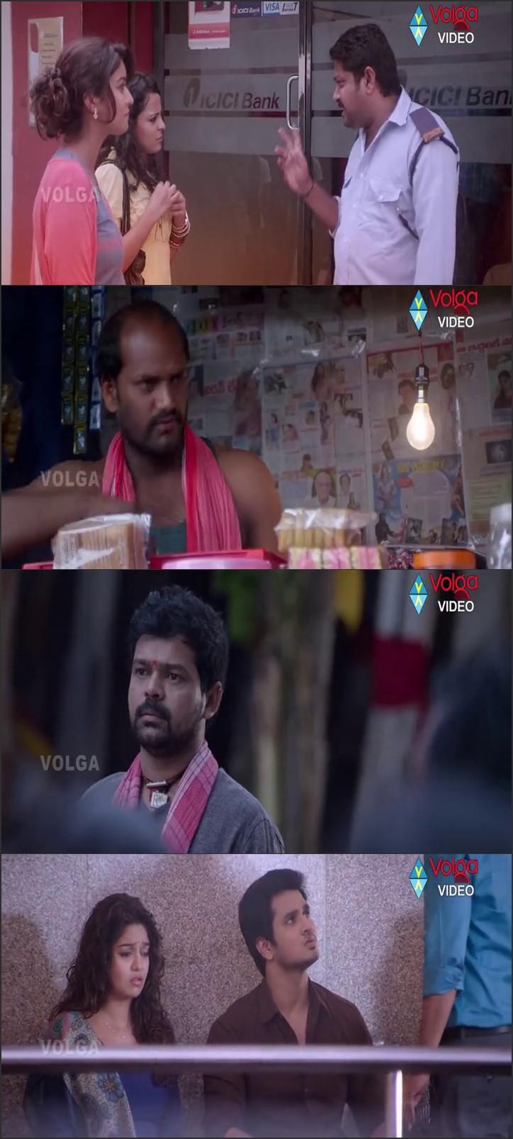 Screen Shot Of Karthikeya 2014 300MB Full Movie Hindi Dubbed Free Download 480P BRRip Small Size PC Movie