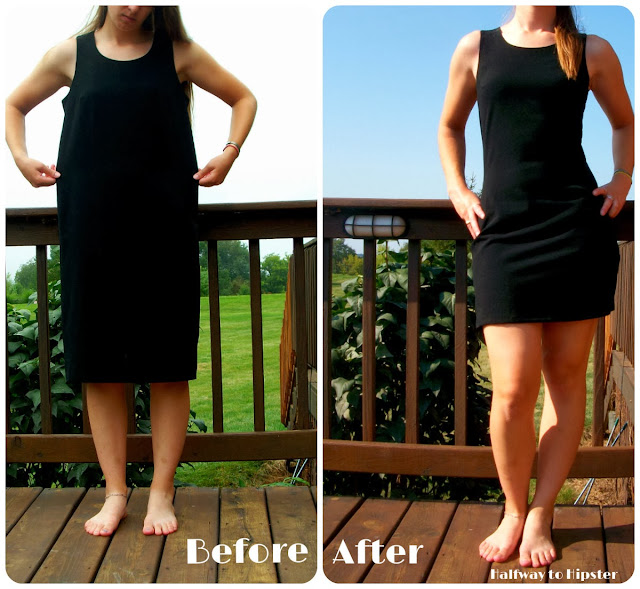 Boxy Dress Refashion
