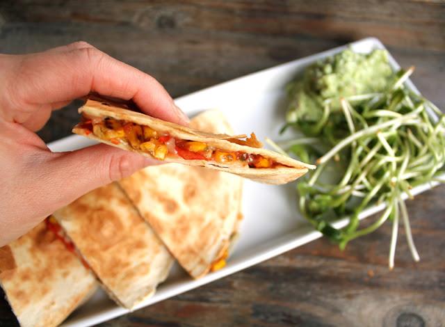 Oppskrift Quesadilla Maissalsa Hvordan Lage Vegansk Quesadillas Meksikansk Mat Vegetar