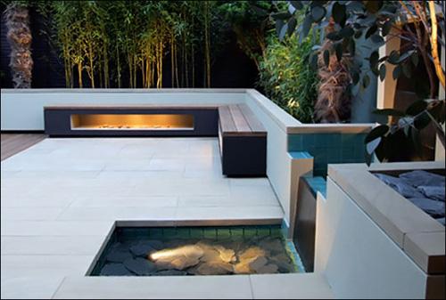 Small Minimalist Design Garden Foto 2 Los Espacios Con Agua Permiten Crear Ambientes Tranquilos
