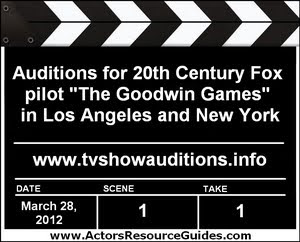 The Goodwin Games Casting Auditions