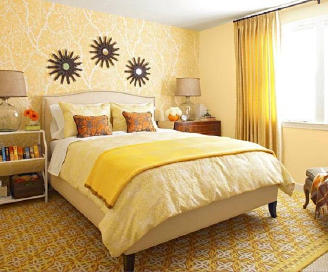 Dormitorios en tonos naturales - Visillos para dormitorios ...