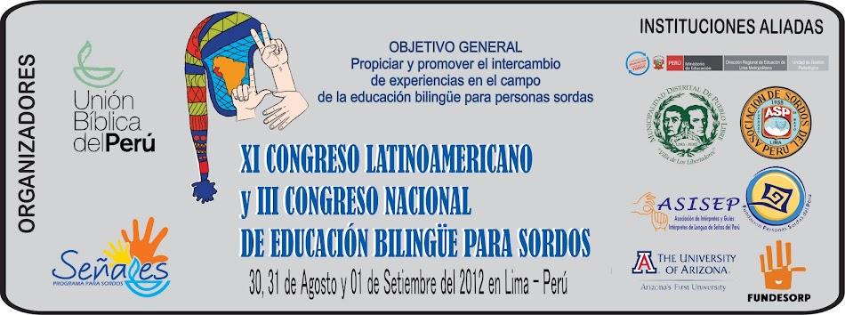 XI Congreso Latinoamericano de Educación Bilingüe para Sordos
