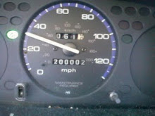 200,000 miles on my car