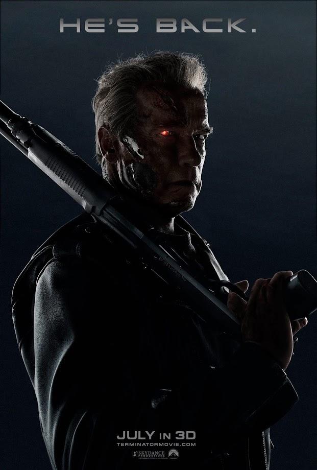 Novo poster de Arnold Schwarzenegger em O Exterminador do Futuro: A Gênesis