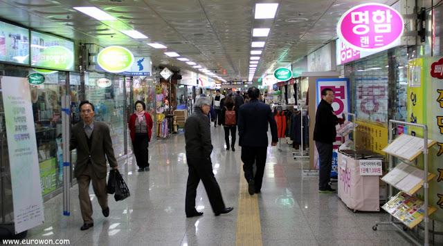 Estación Euljiro 3ga del metro de Seúl