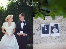 Pon una polaroid en tu boda