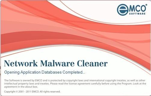 EMCO Network Malware Cleaner 4.8.50.125