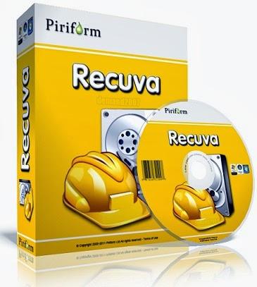 تحميل برنامج استعادة الصور والملفات المحذوفه Recuva رابط مباشر