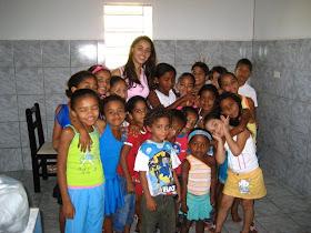 Rivalda e as crianças de Floriano!