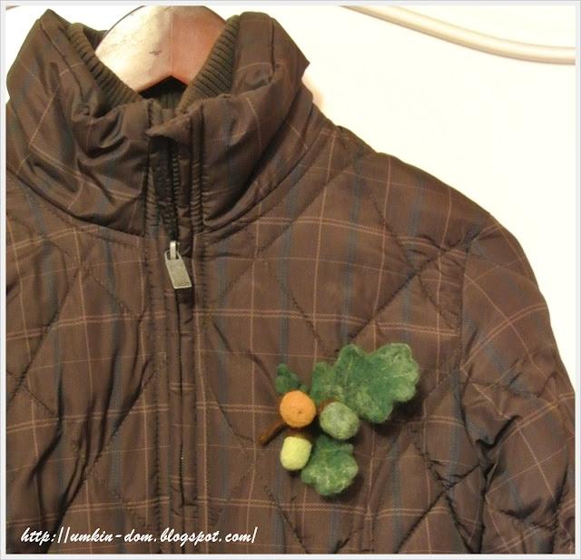 Крупный план на куртке