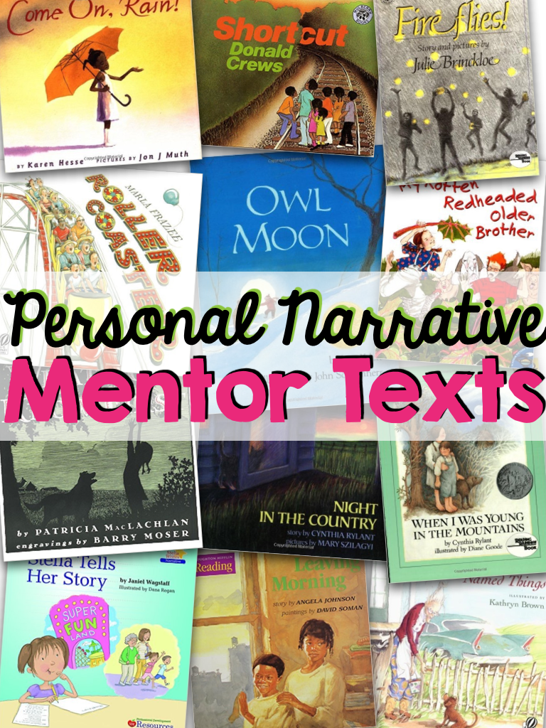 12 Books to Teach Personal Narrative