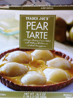 Pear tart from Traders Joe's