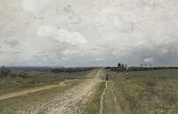 Картина Владимирка - Исаак Левитан, 1892 - фото из русской википедии.