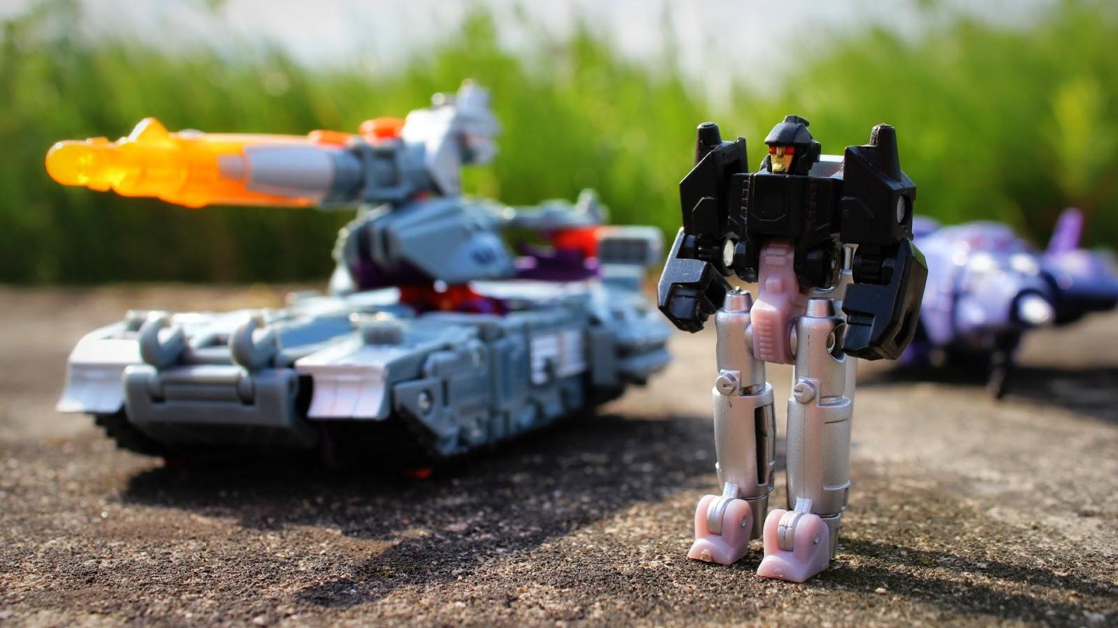 CHUG Decepticons Galvatron Nightstick Cyclonus Transformers