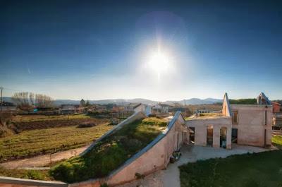 12 Inspirasi Rumah Dengan Green Roof 8