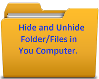 hide computer folder