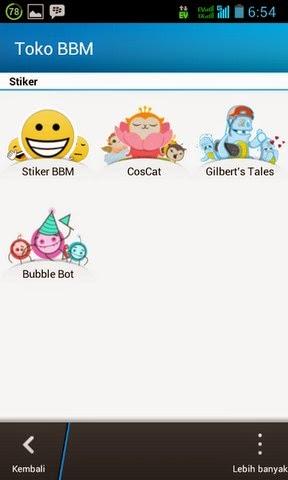 Sticker BBM Gratis