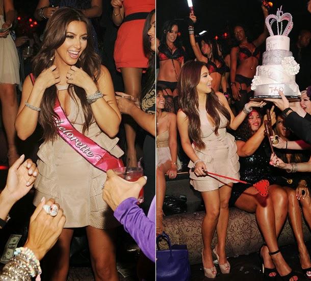 Kim's hen party