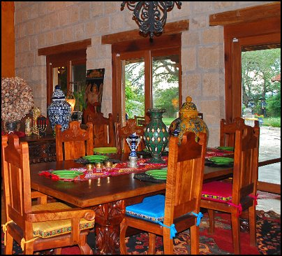 Hacienda Style Mexican Theme Southwestern Decorating Ideas Rustic