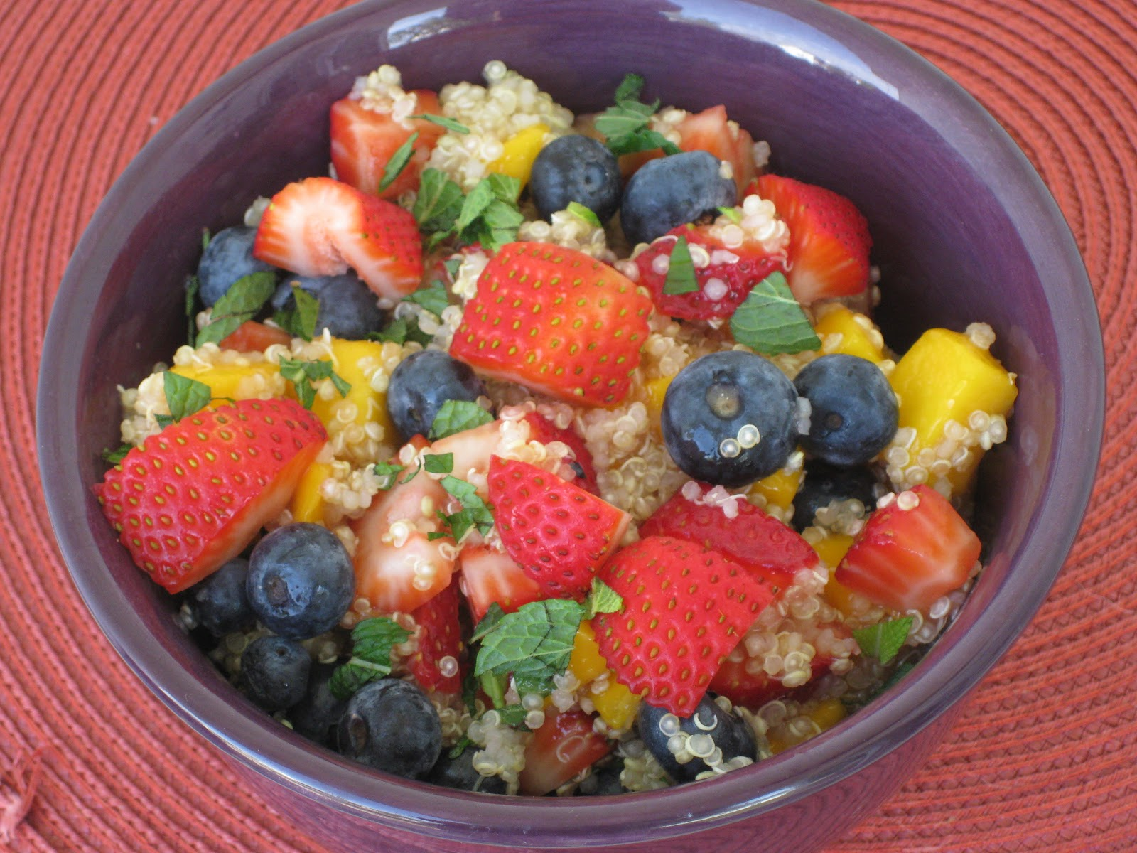 fruit salad with pomegranates fruit salad cote d ivoire quinoa fruit ...