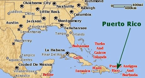 What Is Puerto Rico Is It Part Of The United States Political - Us map puerto rico