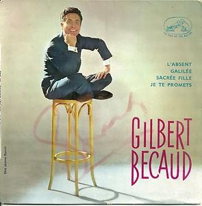 Gilbert Bécaud - L'Absent