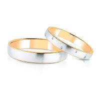 obrączka ślubna złoto łączone, złoto mieszane, w. kruk, obrączki kruk