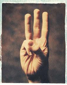 Internat. Handzeichen für WaldWelt-Festival