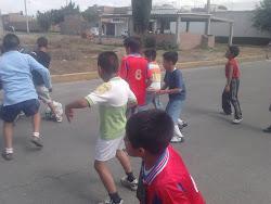 CORRIENDO Y LIMPIANDO EL TEJOCOTE 2011
