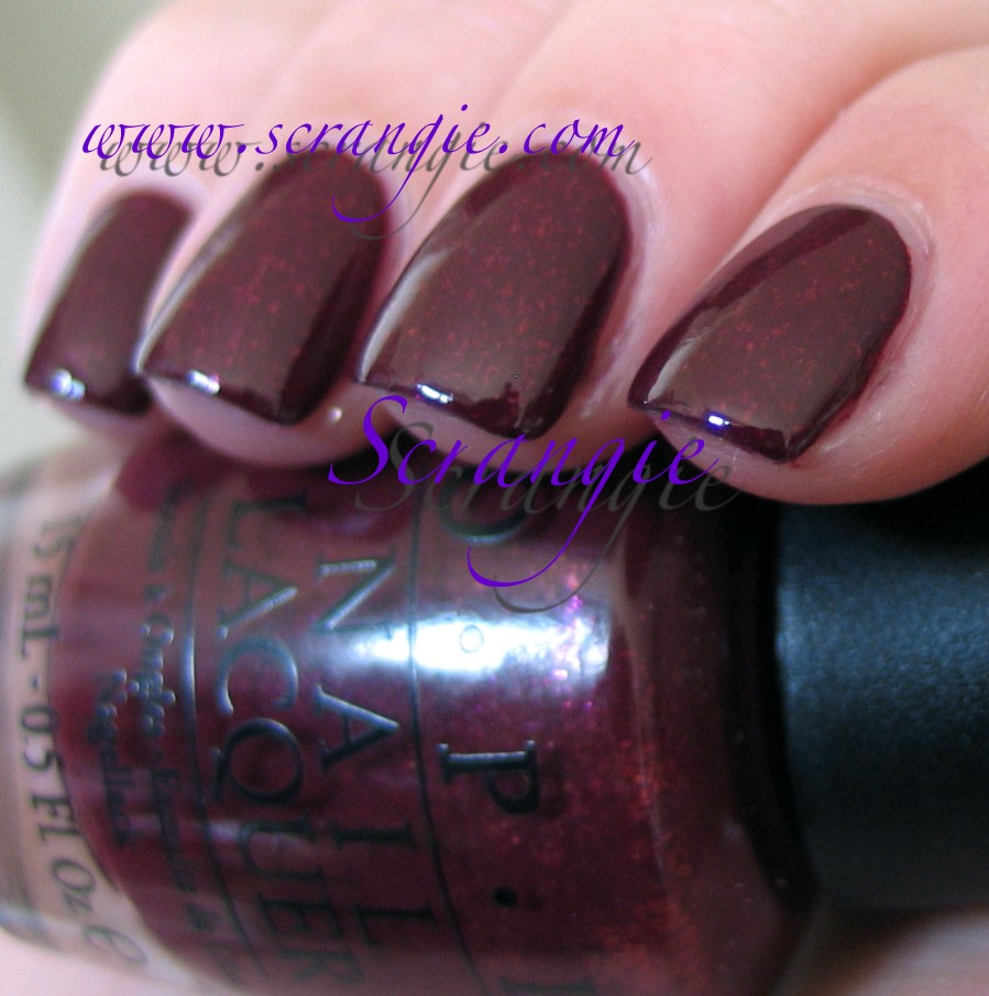 Scrangie: OPI The Muppets Collection Holiday 2011 Swatches and Review