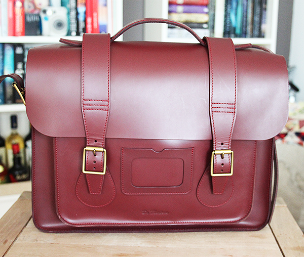 Dr. Martens leather satchel