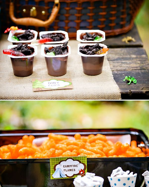 A Manda Creation Camping Party Food Ideas