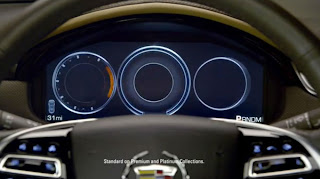 2013 Cadillac XTS Gets CUE Reconfigurable Instrument Cluster