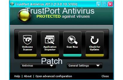 TrustPort Antivirus 2015 Patch License Key Portable Crack Free