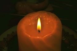 Kerzenlicht...