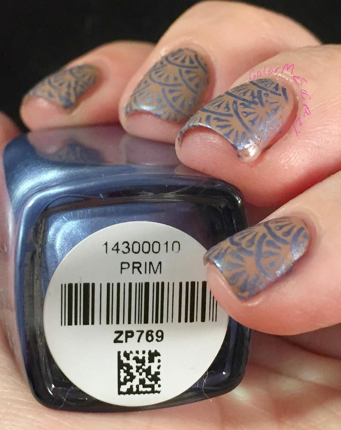 nail challenge collaborative, wallpaper nails, zoya spencer, zoya prim, zoya nails