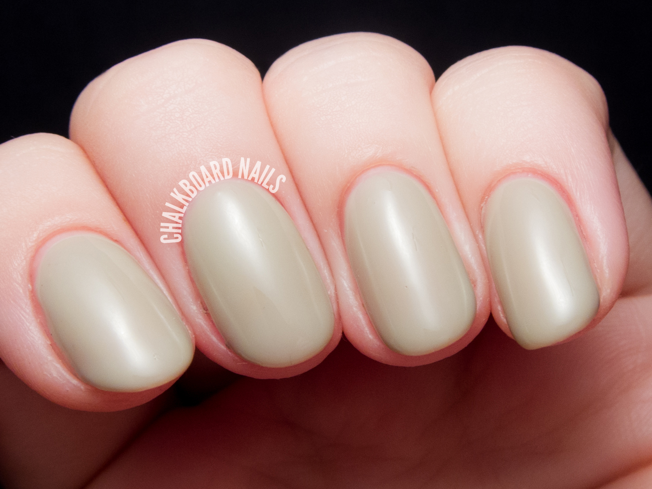 Sally Hansen - Earl Gray as a gel polish via @chalkboardnails
