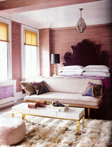 Belle maison glamorous elle decor home tour - Elle decor bedrooms ...