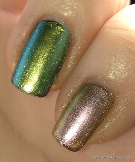 China Glaze Unpredictable and Swanky Silk
