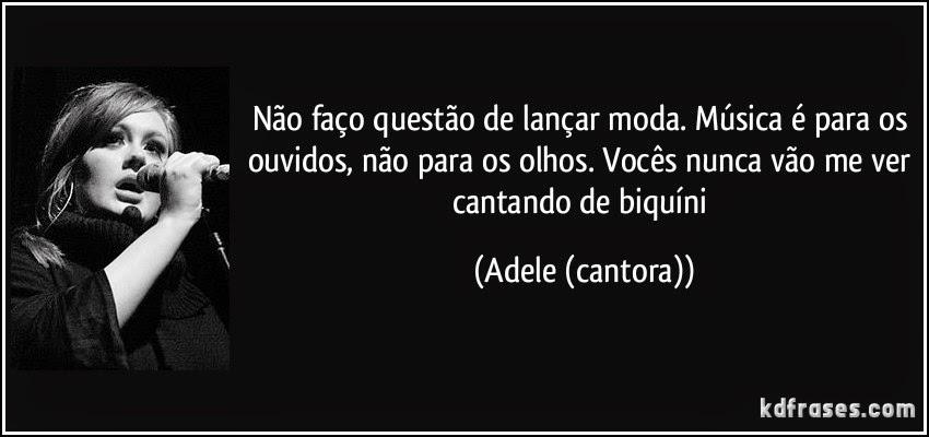 mensagem - Adele
