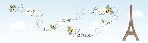 Busy as a Bee in Paris banner design