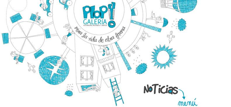 PLOP! Galería · Ilustración Chile