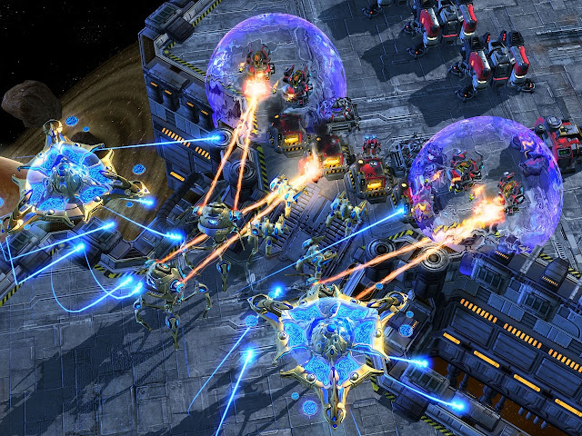 Скриншот 3 из StarCraft II: Wings of Liberty Patch v1.2.1 (2010) PC.